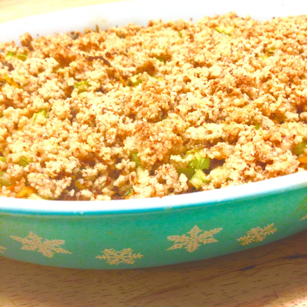I give to you,Grain-free Meatball Stuffing.