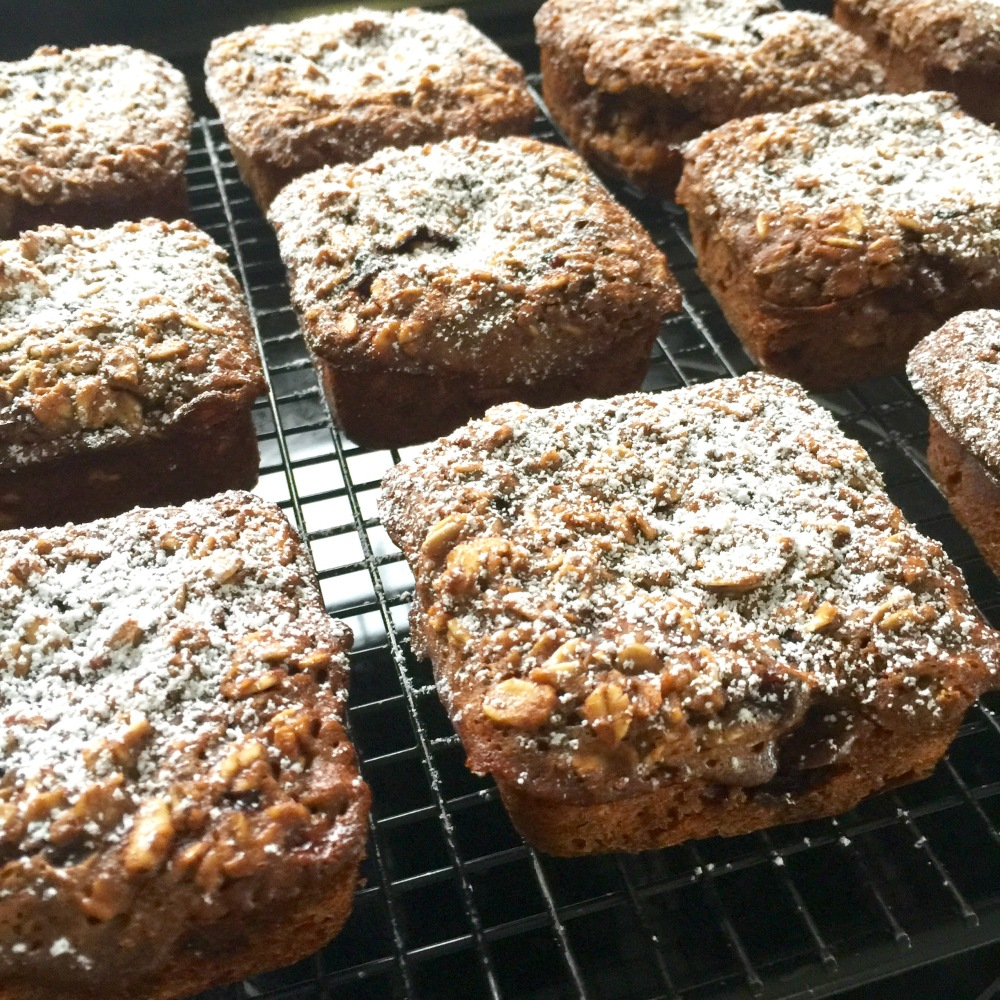 Bilberry Oat Muffins
