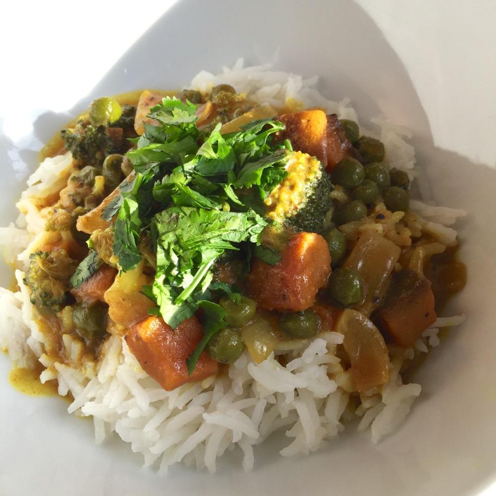 Roasted Sweet Potato Curry6