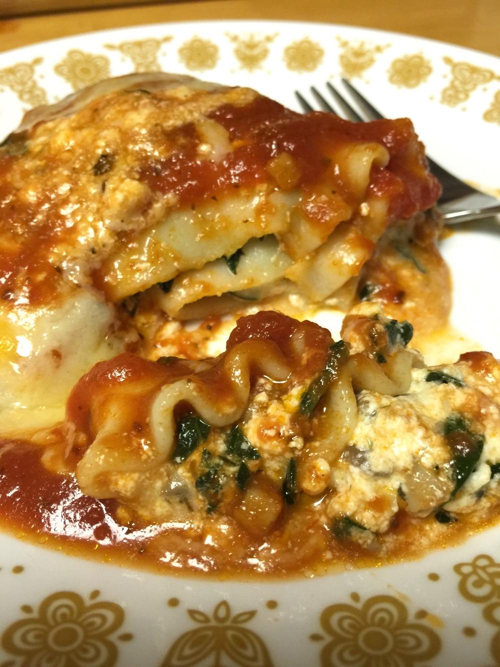 Veggie Lasagna Rollups1