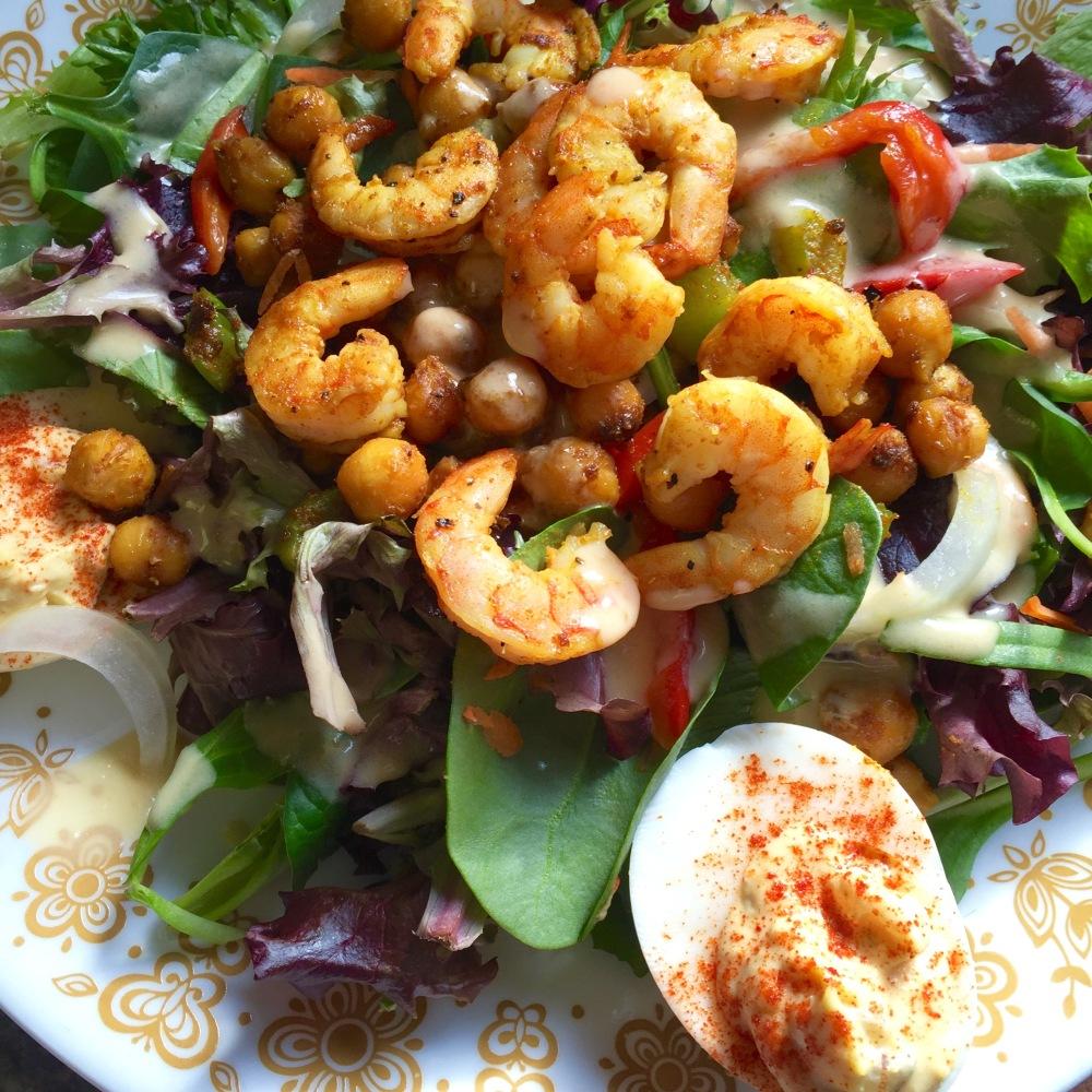 Curry Spiced Chickpea + Shrimp2